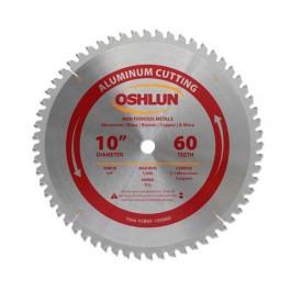 """Aluminum Cutting Saw Blades 10"""" X 5/8"""" X 60T"""