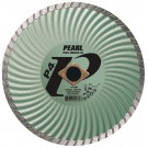 "Pearl 6"" x .080 x 7/8 DIA - 5/8"" P4 Waved Core Turbo Diamond Blade"