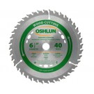 "WOOD CUTTING SAW BLADES 6 1/2"" X 5/8"" Diamond X 40T"