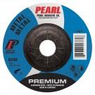 "Pearl Premium 5"" x 1/4"" x 7/8"" Depressed Center Grinding Wheel (Pack of 25)"