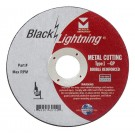 "Mercer Black Lightning 6"" x 1/16"" x 5/8"" - Metal (Pack of 25)"