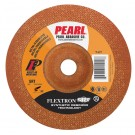 "Pearl 4-1/2"" x 1/8"" x 7/8"" Flextron SRT Grinding Wheel 60 Grit  TYPE 27 - Metal (Pack of 25)"