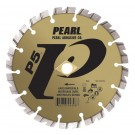 "Pearl 4 1/2"" x .090 x 7/8"", 5/8"", 20mm P5 Hard Materials Diamond Blade"