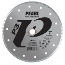 "Pearl 7"" x .060 x 7/8, DIA - 5/8"" Adapter P3 Diamond Blade - Tile & Marble"