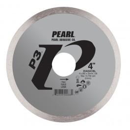 """4"""" x .060 x 20mm, 5/8"""" Pearl P3 Tile Cutting Diamond Blade"""