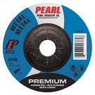 "Pearl Premium 4"" x 1/4"" x 5/8"" Depressed Center Grinding Wheel 24GRIT (Pack of 25)"