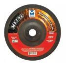 """Mercer 7"""" x 1/4"""" x 7/8"""" Grinding Wheel TYPE 27 - Metal (Pack of 20)"""