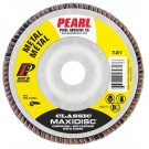 "Pearl Classic 4-1/2"" x 7/8"" AL/OX T27 Flap Disc - 80 GRIT (Pack of 10)"