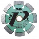 "Pearl 4"" x .250 x 7/8"" - 5/8 P4 PRO-V Tuck Point Diamond Blade"