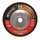 """Mercer 5"""" x 1/4"""" x 5/8"""" -11 Grinding Wheel TYPE 27 - Metal (Pack of 20)"""