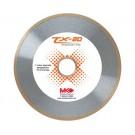 "TX-20  MK Diamond Saw Blades 10"" x .060 x 1"" - Tile / Marble"