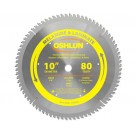 "MELAMINE AND LAMINATE SAW BLADES 10"" X 5/8"" X 80T"