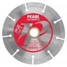 "5"" x .080 x 7/8"" - 5/8"" Pearl P2 PRO-V Segmented Diamond Blade"