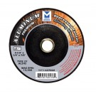 "Mercer 4 1/2"" x 1/4"" x 7/8"" Grinding Wheel TYPE 27 - Aluminum (Pack of 25)"