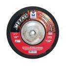 """Mercer 7"""" x 1/4"""" x 5/8""""-11 Grinding Wheel TYPE 27 - Metal (Pack of 10)"""