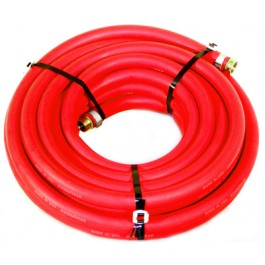 "Water Hose Goodyear Industrial 1/2"" x 100' Red Rubber 200psi - USA"