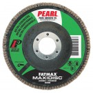 "Pearl FATMAX 4-1/2"" x 7/8"" T27 Flap Disc - Z60 GRIT (Pack of 10)"