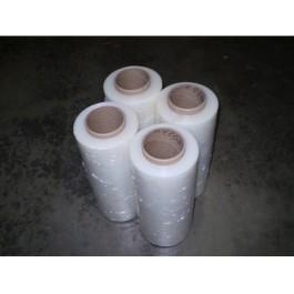 """Stretch Wrap 15"""" x 1500' 80g Clear - 4/Rolls"""