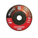 "Mercer 4 1/2"" x 1/4"" x 7/8"" Grinding Wheel TYPE 27 - Metal (Pack of 25)"