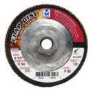 "Mercer Aluminum Oxide Flap Disc 4-1/2"" x 5/8""-11 80grit Standard - T29 (Pack of 10)"