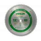 "WOOD CUTTING SAW BLADES 10"" X 5/8"" X 80T"