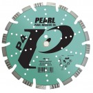 "Pearl 16"" x .125 x 1"", 20mm  P4 Asphalt and Concrete Combo Blade"